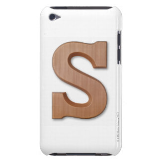 Chocolate letter s iPod touch case