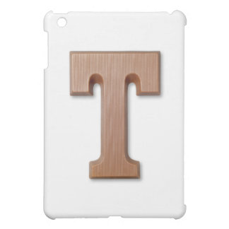 chocolate letter T Cover For The iPad Mini
