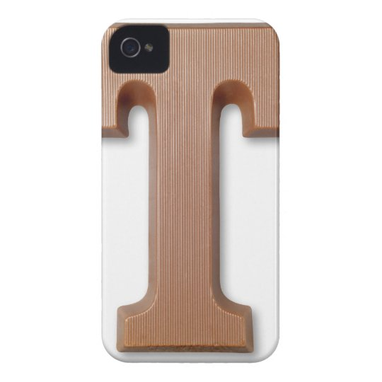 Chocolate letter t iPhone 4 case