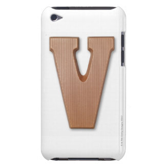 Chocolate letter v barely there iPod cover