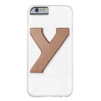 Chocolate letter y barely there iPhone 6 case