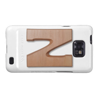 Chocolate letter z samsung galaxy s2 cover