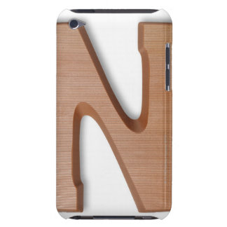 Chocolate letter z barely there iPod case