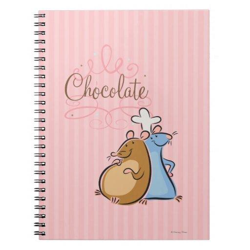 Chocolate Libros De Apuntes