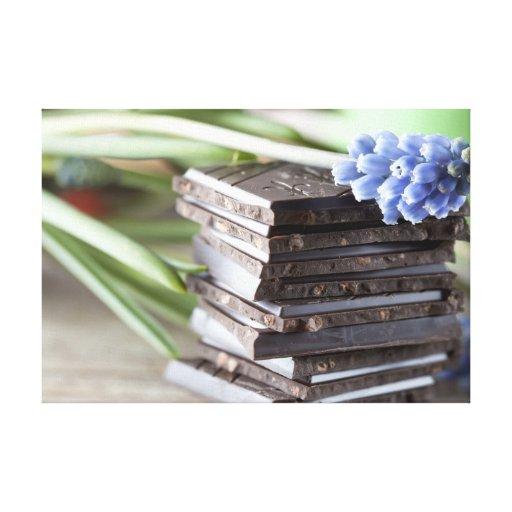 Chocolate Impresiones En Lona