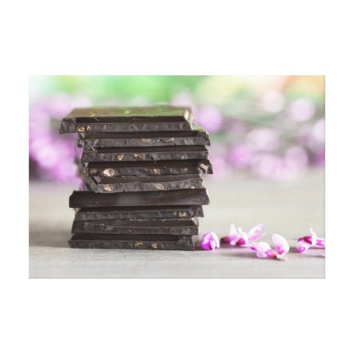Chocolate Lienzo Envuelto Para Galerías