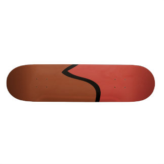 Chocolate lollipop skate deck