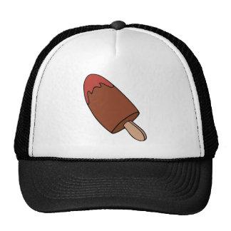 Chocolate lollipop trucker hat