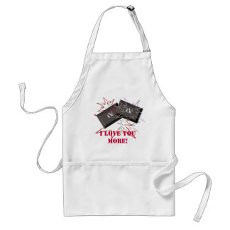 CHOCOLATE LOVE apron