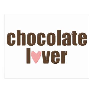 Chocolate Love Classic Postcard