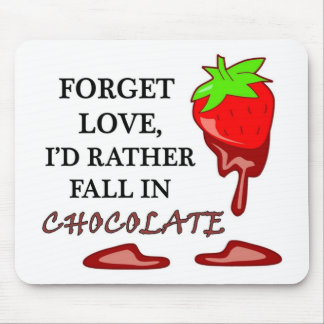 Chocolate Love Full Mouse Pad