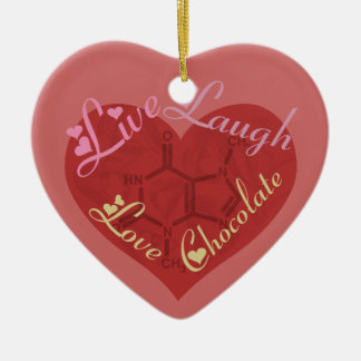 Chocolate Love Valentine Ornament