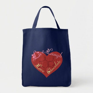 Chocolate Love Valentine Tote Bag