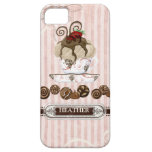 Chocolate Lover Addict Candy Swirls Cell Case iPhone 5 Cover