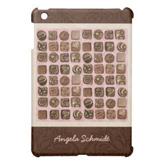 Chocolate Lover Box of Chocolates Damask IPad 1 iPad Mini Cover