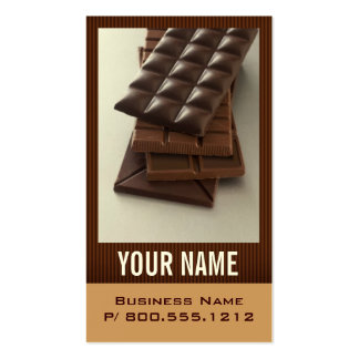 Chocolate Lover Business Cards