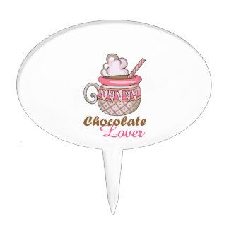 Chocolate Lover Cake Topper