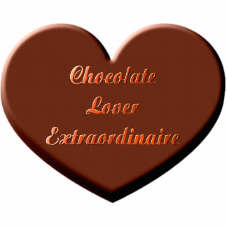 Chocolate Lover Extraordinaire Cutout