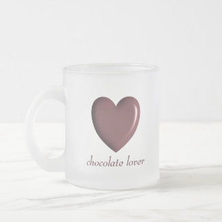 Chocolate Lover Frosted Mug