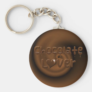 Chocolate Lover Keychain