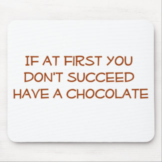 Chocolate Lover Mouse Pad