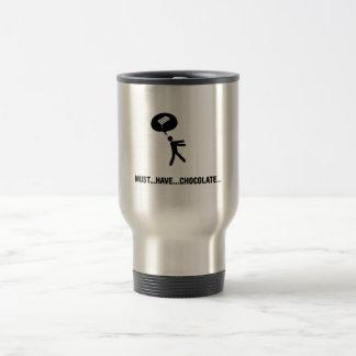 Chocolate Lover 15 Oz Stainless Steel Travel Mug