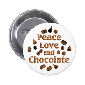Chocolate Lover Pinback Button