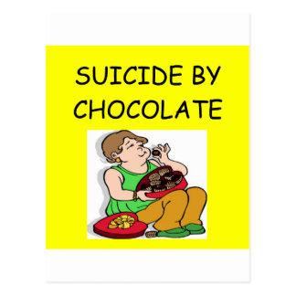 CHOCOLATE lover Postcard