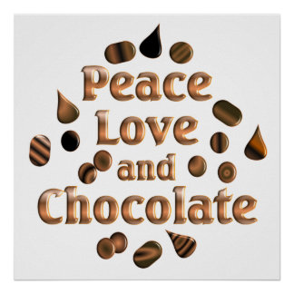 Chocolate Lover Poster