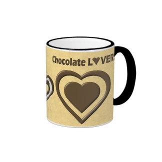 Chocolate Lover Ringer Coffee Mug