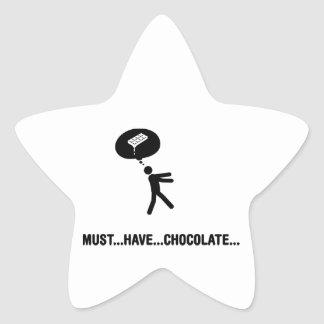 Chocolate Lover Stickers