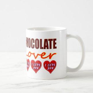Chocolate Lover with I Love You chocolates Coffee Mug