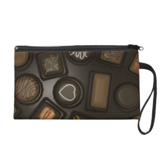 Chocolate lover wristlet bag