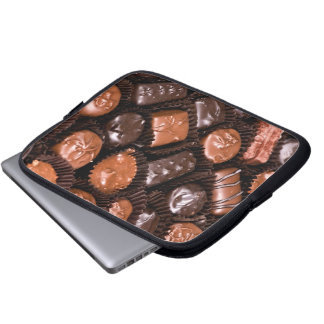 Chocolate Lovers Delight Box of Candy Laptop Computer Sleeve