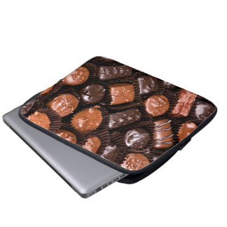 Chocolate Lovers Delight Box of Candy Laptop Sleeve
