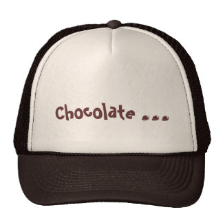 Chocolate lovers hat with chocolate candy