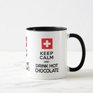 Chocolate Lover's Keep Calm Drink Hot Chocolate Mug