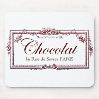 Chocolate lovers .... love this vintage French art Mouse Pad