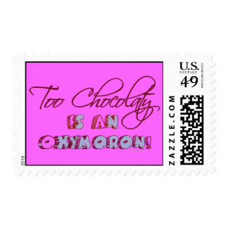 Chocolate Lovers Postage Stamp