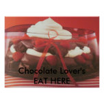 Chocolate Lovers Posters