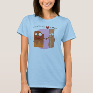 chocolate loves bacon T-Shirt