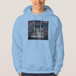 Chocolate Lush Band Decadentz skyblue hoodie