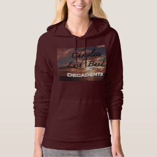 Chocolate Lush Band Women's pullover hoodie