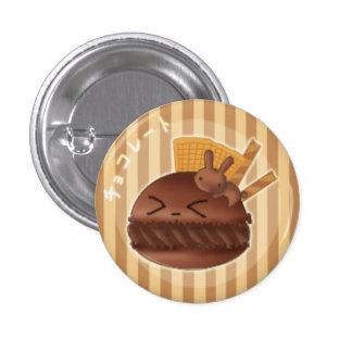 Chocolate macaron buttons