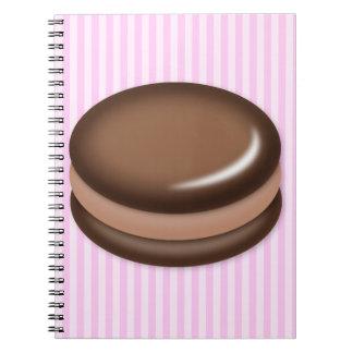 Chocolate Macaron Cuaderno