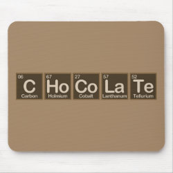 Mousepad with Chocolate design