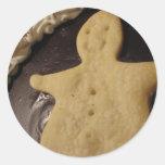 Chocolate Man Pie Stickers
