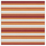 [ Thumbnail: Chocolate, Maroon, Brown, Light Grey & Mint Cream Fabric ]