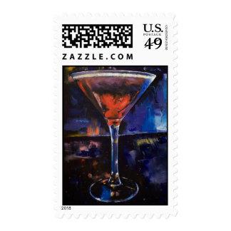 Chocolate Martini Stamp