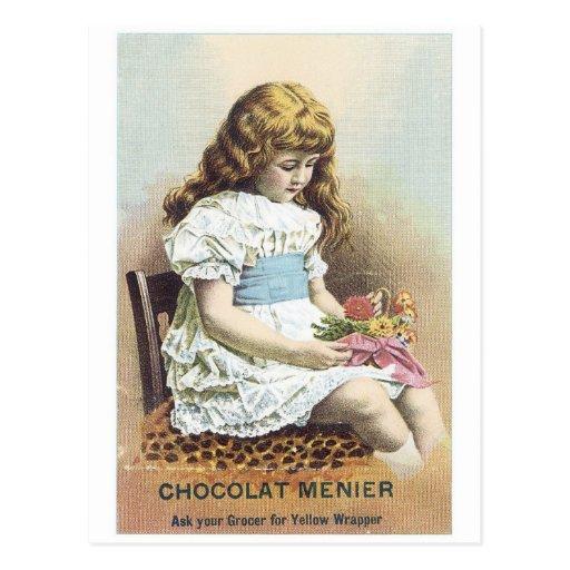 Chocolate Menier Postcard